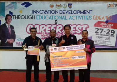 PERTANDINGAN INNOVATION DEVELOPMENT THROUGH EDUCATIONAL ACTIVITIES & CAREER FEST