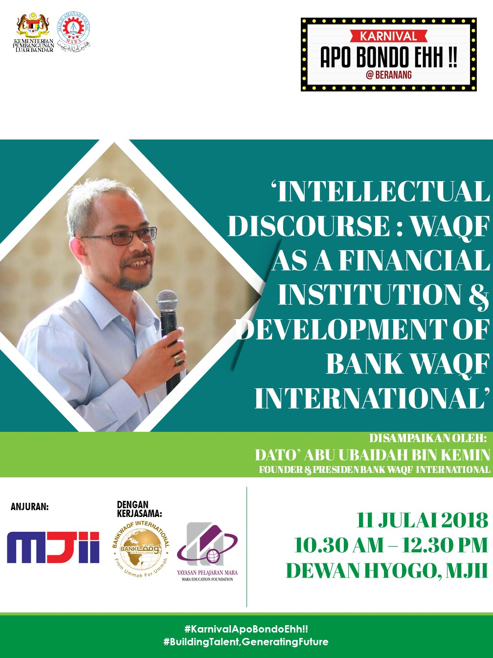 Intellectual Discourse: WAQF as a financial Institution & Development Of Bank WAQF International
